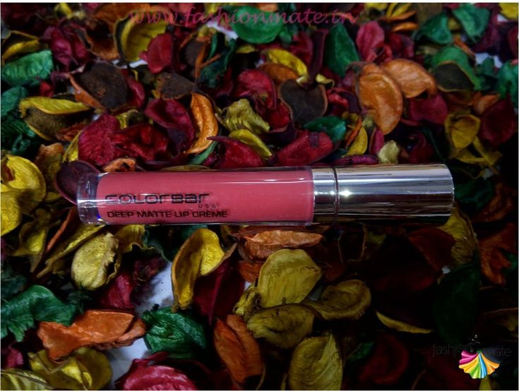 Colourbar deep matte cream lipstick review and swatches
