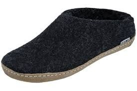 Glerups Women's Model B Felt Slippers Glerups are natural wool shoes, with a variety of styles. Glerups come in European sizes, and you can refer to the sizing chart on their website to find your size.