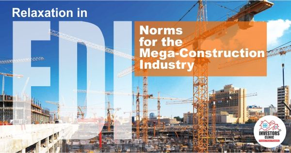 Relaxation in FDI Norms for the Mega-Construction Industry
