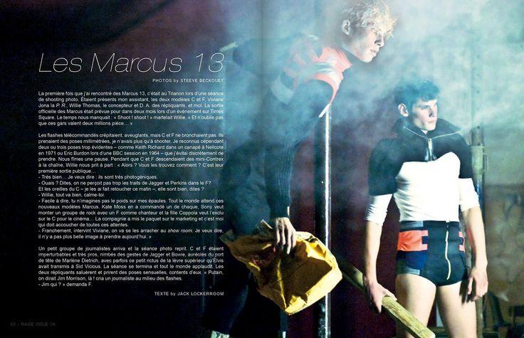 Raise Magazine Issue #6 LES MARCUS 13