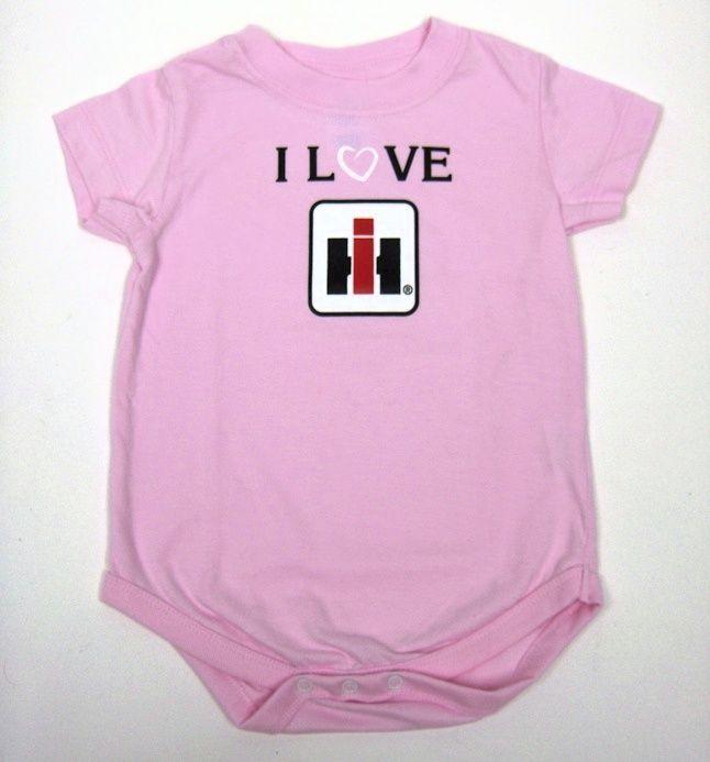 Baby Girl Farmall Clothes