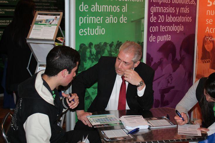 """El Director de la Escuela de Ingeniería Civil Industrial, Gabriel Alkalay, participa de feria educacional """"SP21"""""""