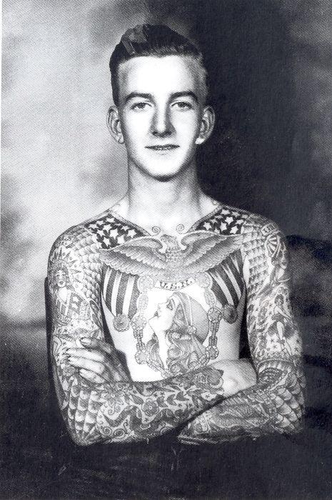 Full torso tattoo by Bert Grimm