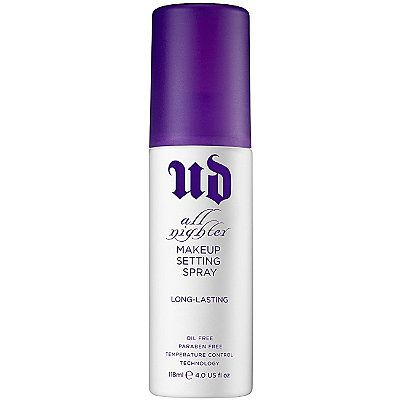 Urban Decay CosmeticsAll Nighter Makeup Setting Spray....cannot live without this stuff!!!