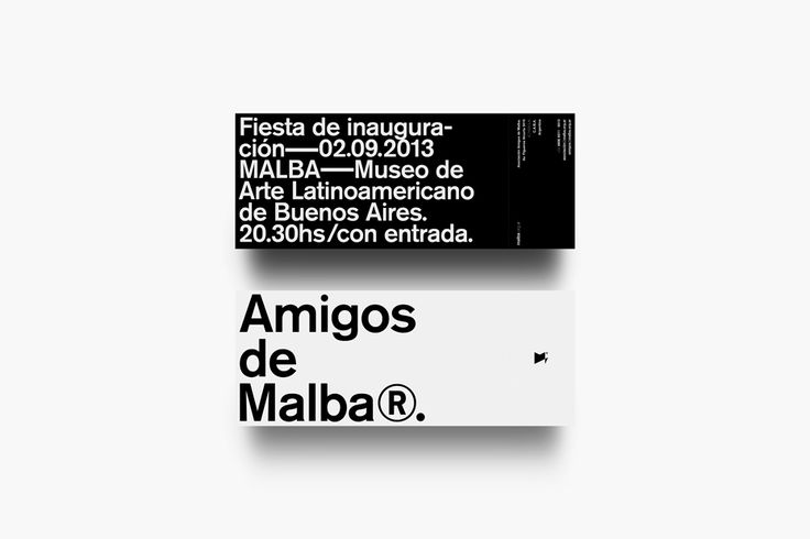 A. Amigos de Malba Identity on Behance