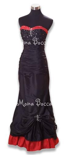 Black Victorian Bridesmaid Dress...love