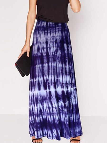 Buy pink and white Color Block Trendy Maxi Skirts online with cheap prices and discover fashion Maxi Skirts at Fashionmia.com.