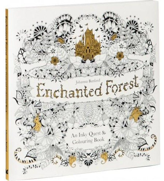 Enchanted Forest Adult Colouring Book by Johanna Basford - I want this for Christmas