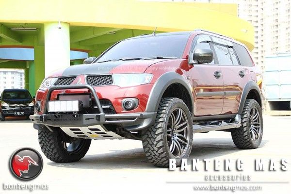 Mitsubishi Pajero Sport modified