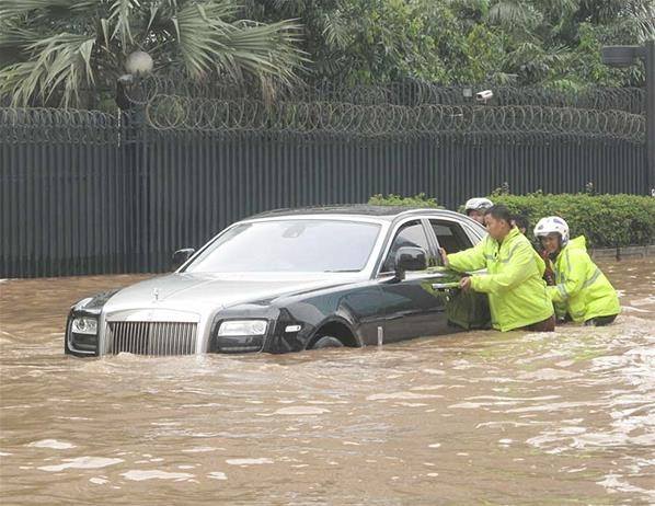 Mobil-mobil Korban Banjir