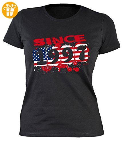 20 Geburtstag Damen T-Shirt - Damen 20 Jahre Usa Shirt : Usa since 1997 -- Usa Motiv Geburtstagsshirt 20 Damenshirt Gr: XL (*Partner-Link)