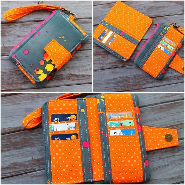 Need a quick weekend project? Sew yourself a new wallet with Sherri Sylvester's top pattern picks.