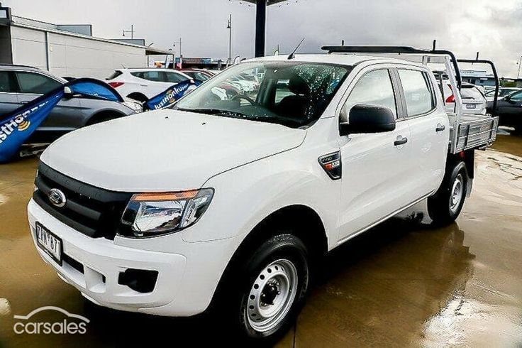 2012 Ford Ranger XL Hi-Rider PX Auto 4x2 Double Cab-$17,990