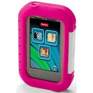 Fisher-Price Kid-Tough Apptivity Case: Pink  iPhone 3G / 3GS iPhone 4 / 4S iPod touch® 2nd, 3rd & 4th generation FREE Fisher-Price learning apps!