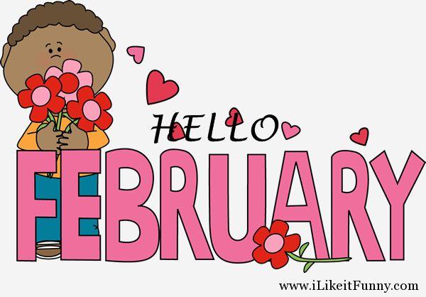 Hello february love picture