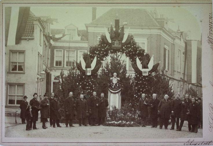 70e verjaardag Koning Willem III 19-2-1887