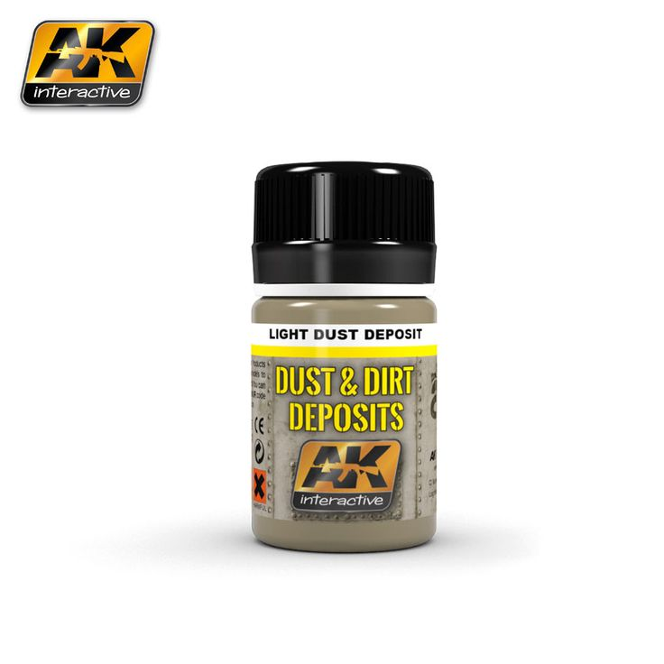 AK4062 - Light dust deposit