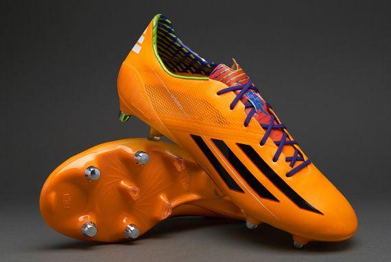 adidas Football Boots - adidas F50 adiZero XTRX SG - Soft Ground - Soccer Cleats - Solar Zest-Black-Blast Purple