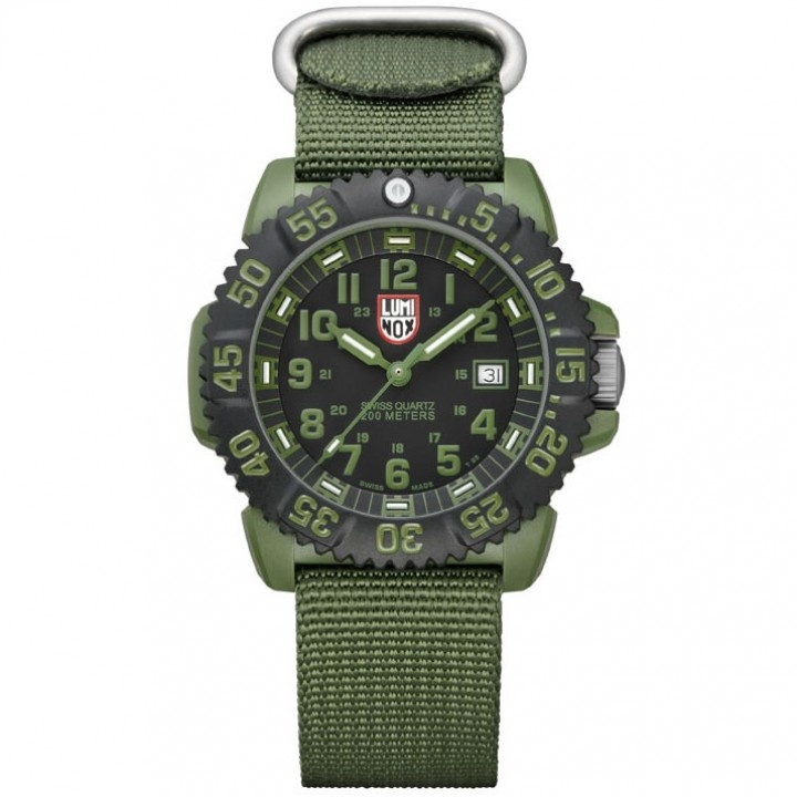 Luminox 3042 od military od green watch watches tactical distributors tactical gear gear for Watches gear