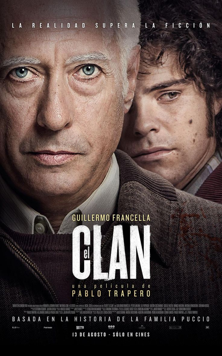 """""""El clan"""", 2015, by argentine director Pablo Trapero. The true story of the Puccio Clan, a family who kidnapped and killed people in the early 80s in Argentina."""