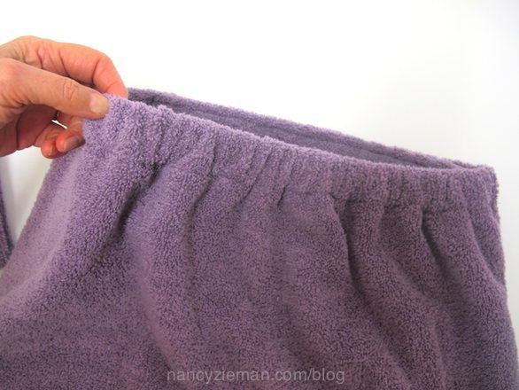 Sew A Towel Wrap by Nancy Zieman of TVs Sewing With Nancy | Nancy Zieman Blog