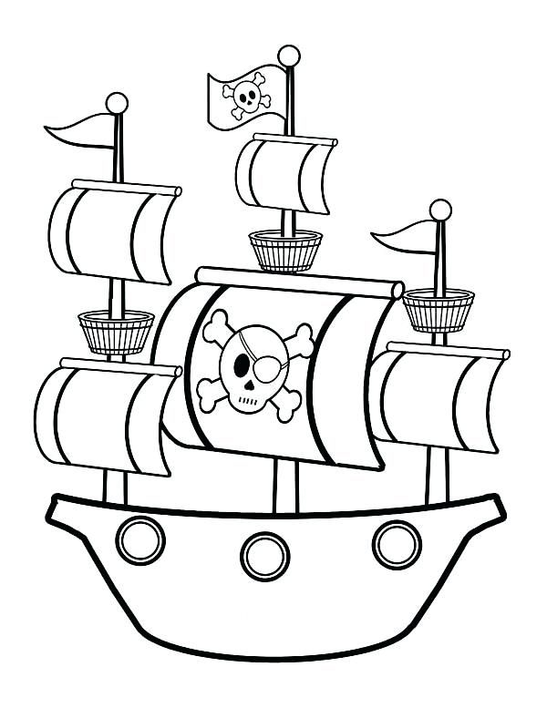 Printable For Sheep On A Ship Pirate Coloring Pages Pirate Ship Drawing Pirate Crafts