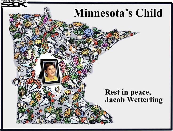 Sack cartoon: Jacob Wetterling | Star Tribune