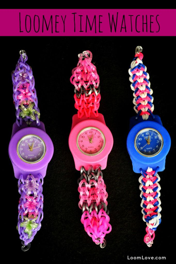 loom band watch instructions