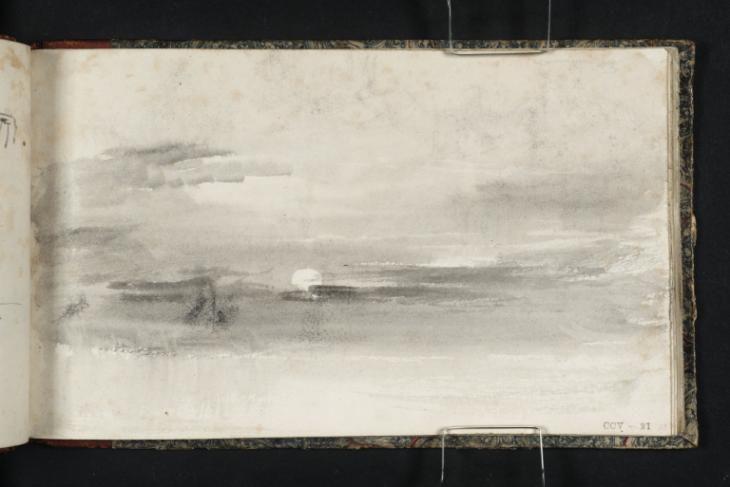 """Old London Bridge vázlatfüzet"", Joseph Mallord William Turner, 1823-4 | Tate"