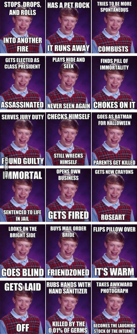 The Best of 'Bad Luck Brian'