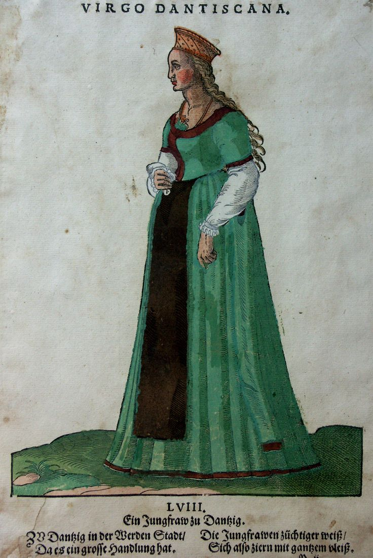 JOST AMMAN - HANS WEIGEL - ANNO 1577 VIRGO DANTISCANA http://www.laboramedia.com/ebay/M922Danzig02Galerie.jpg