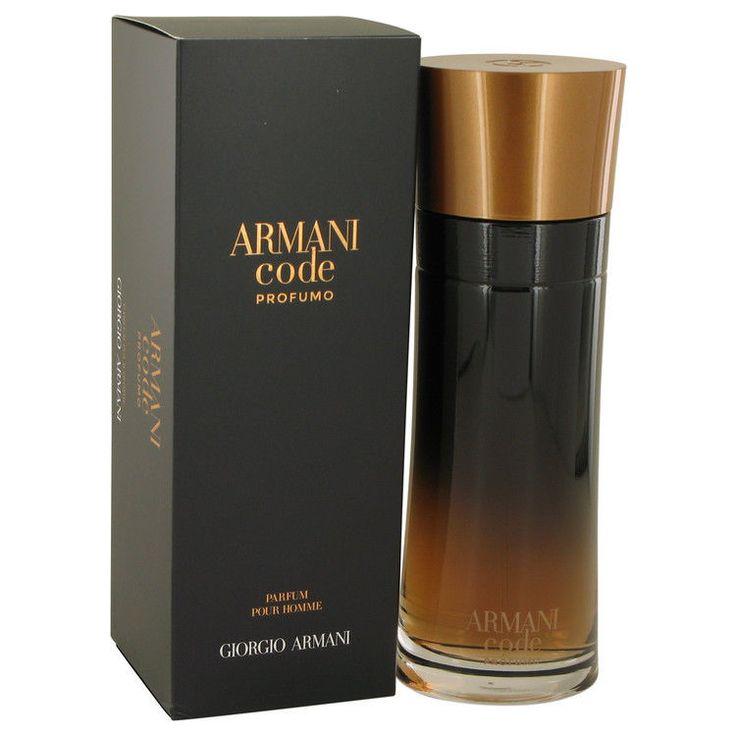 Armani Code Profumo by Giorgio Armani 6.7 oz Eau De Parfum Spr 200ml for Men NIB #GiorgioArmani