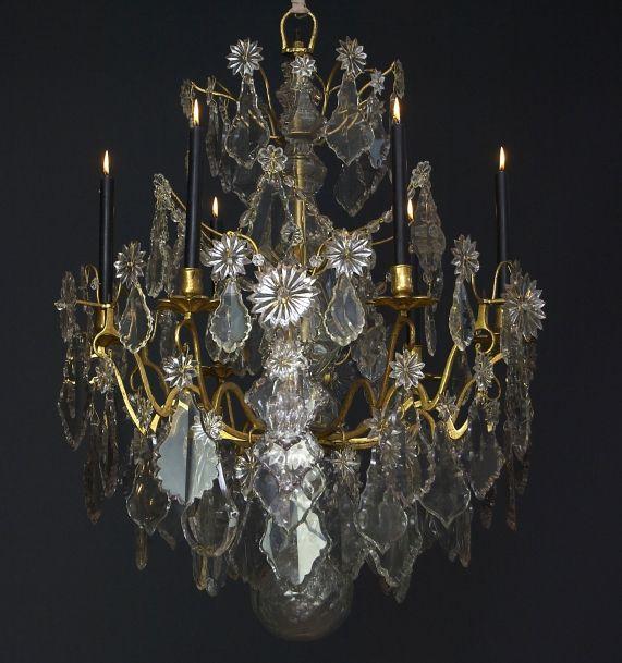 18. Jahrhundert französischer Kronleuchter 'Lustre a tige'