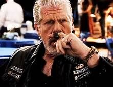 Ron Perlman is an avid cigar smoker and his characters are often seen smoking cigars, for example, his characters in The Last Supper (1995), Happy Texas (1999), Price of Glory (2000), Night Class (2001), and Hellboy (2004).  Check out Movies With Dinosaurs for more facts and reviews of movies and actors~