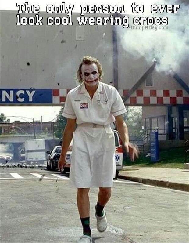 Heath Ledger! The Joker in Batman the dark knight :)