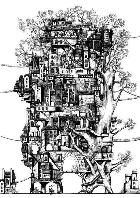 "Imagine a ""tree city"""