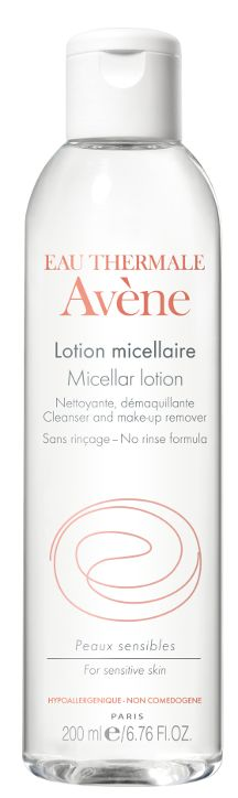 Lotion Micellaire d'Avène - complètement fan de cette marque . Ils entretiennent parfaitement les jolies peaux