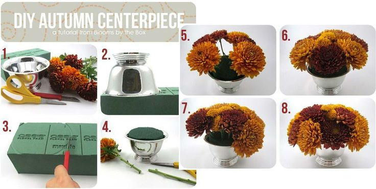 How to make Autumn Centerpiece step by step DIY tutorial instructions, How to, how to do, diy instructions, crafts, do it yourself, diy website, art project ideas
