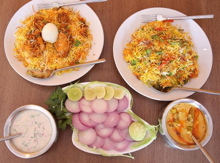 If you want to taste the most awesome #Chickendumbiryani and #vegdumbiryani in Mumbai, you have to eat at #HyderabadXpress. The biryanis come with a side of #mirchikasalan and raita. Priced at Rs 210/- and Rs 160/- respectively, they also offer complementary desserts!