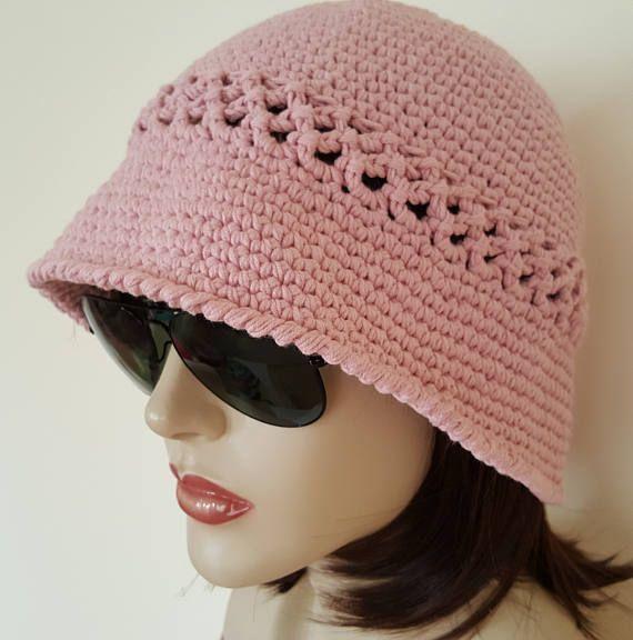 129 besten Cloche Hats Bilder auf Pinterest | Frauenhüte, Hut häkeln ...
