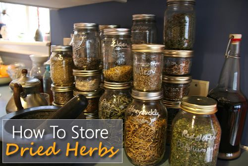 How To Store Dried Herbs And Spices Tips For Long Term