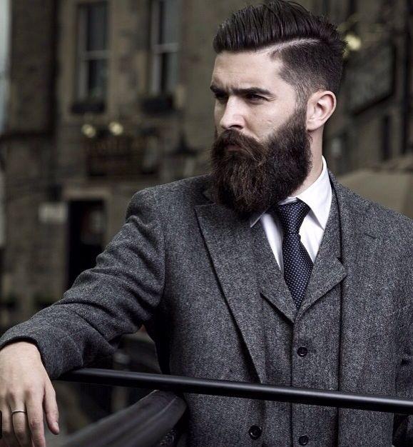 Hipster Bearded Men
