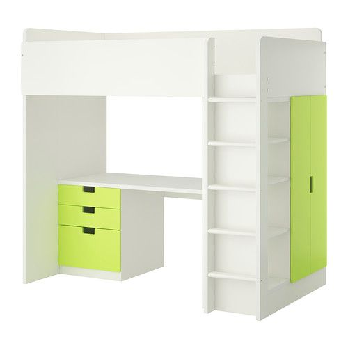 STUVA Loft bed combo w 3 drawers/2 doors IKEA (It comes in black and white in the US for $550)