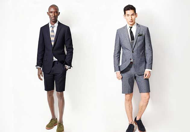 """Rockin' the short suit? Is it for you?  If so, I can make it happen. """"It's definitely having a moment, particularly with younger guys,"""" says Jon Patrick, creative director at J.Hilburn, a made-to-order menswear company.  My opinion? I'd rather see you in a seersucker or linen if you have to go light!"""