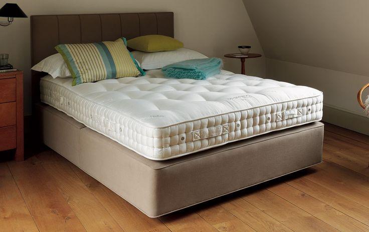 VISPRING Elite | #luxury #bespoke #beds #mattresses #cashmere #wool #organic #cotton #comfort #sleep