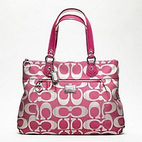 pink Coach....could it get any better?