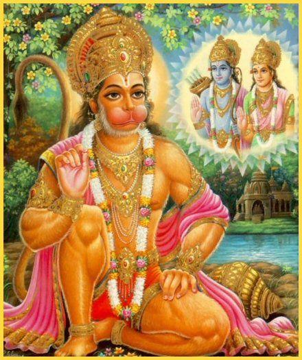 Veel plaatjes van Hanuman / Many pictures and drawings of Hanuman