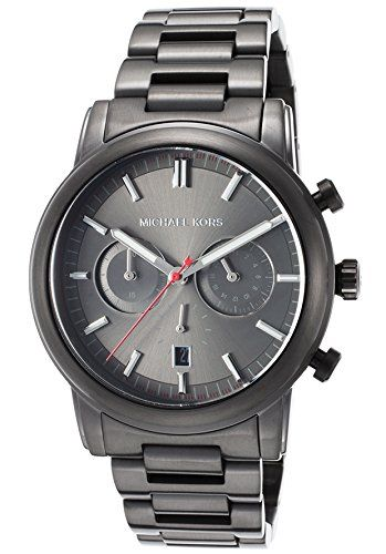 17 best images about watches watch women stainless michael kors pennant mens watch features black stainless steel case black stainless steel bracelet black dial quartz movement chronograph date