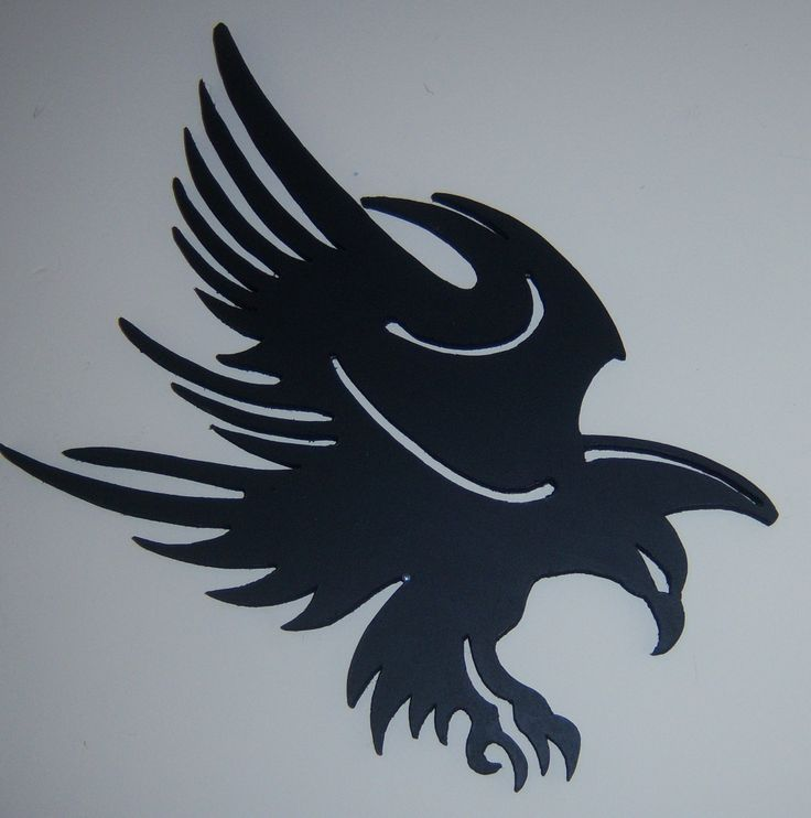 3d wall hung eagle silhouette price is €30 plus €5 p+p