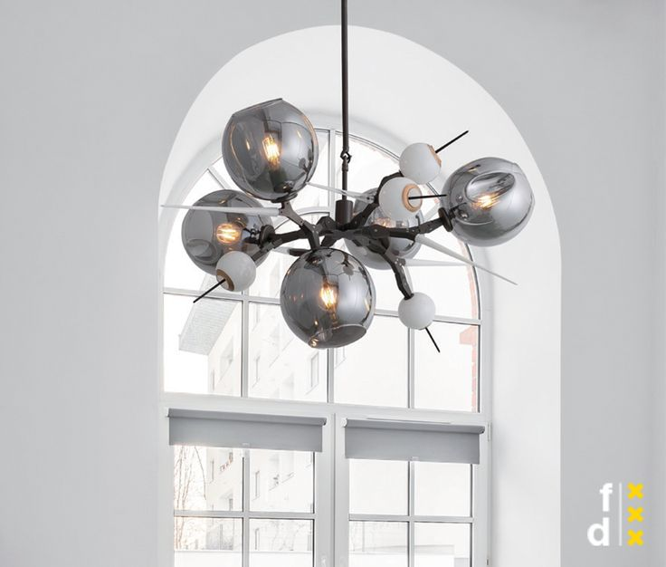 A grand scheme. From intricate to avant garde, our modern chandeliers are the end-all designs to help elevate your space. View our favorites, like this Replica Burst Chandelier.